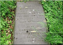 TG2408 : The grave of Reverend Joshua Bryan by Evelyn Simak