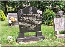 TG2408 : The grave of Stanimir Colovic by Evelyn Simak
