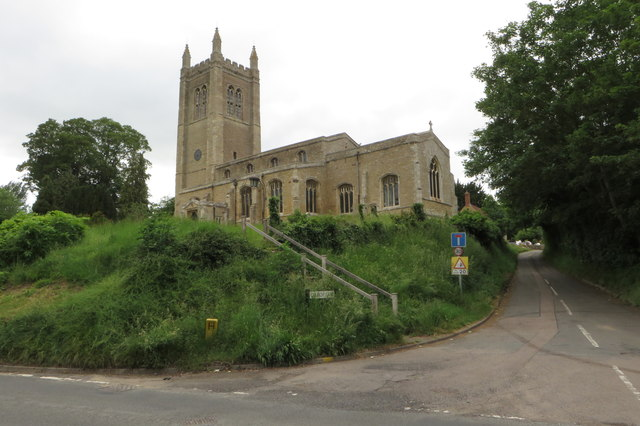 All saints' church Odell