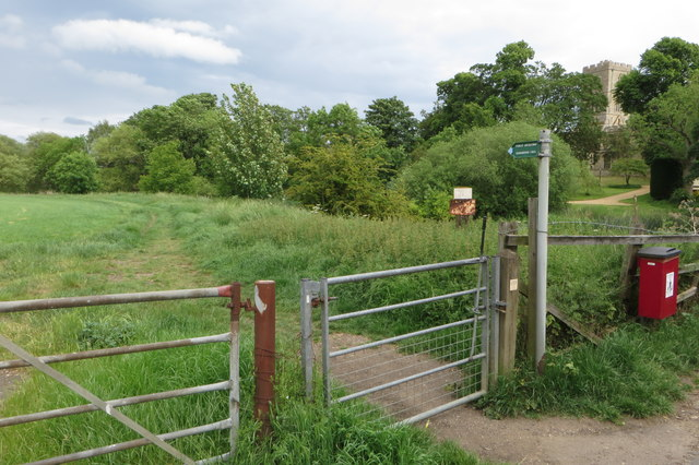 Bridleway to Sharnbrook