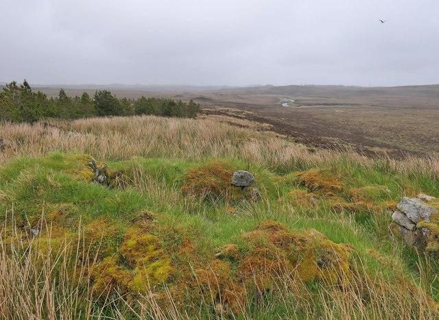 Shieling hut, Airigh an da Mhile, Isle of Lewis