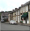 ST1493 : Number Five Sandwich Bar and Coffee Shop, Ystrad Mynach by Jaggery