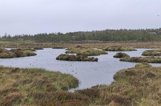 Lochan near Airigh an da Mhile, Isle of Lewis