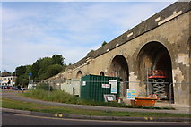 ST9173 : Railway bridge on Marshfield Road, Chippenham by David Howard