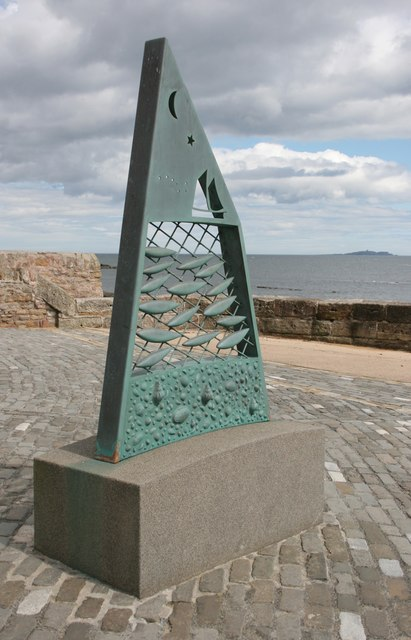 Fish sculpture, Anstruther