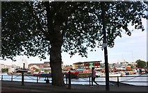ST5772 : Bristol floating harbour by David Howard