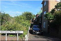 TQ2688 : Houses on Lyttelton Road from Winnington Road by David Howard