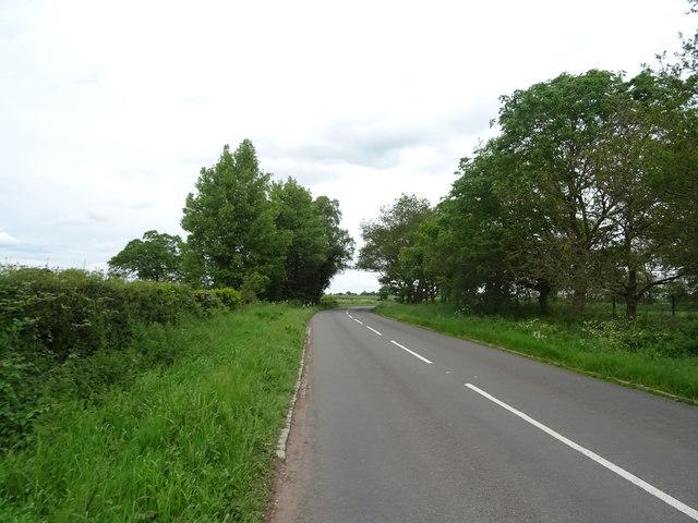 B5415 towards Knighton