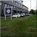 ST1493 : No Smoking notice, Ysbyty Ystrad Fawr, Ystrad Mynach by Jaggery