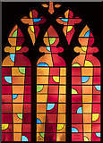 TG2308 : Stained-glass window, Norwich Cathedral by Julian P Guffogg