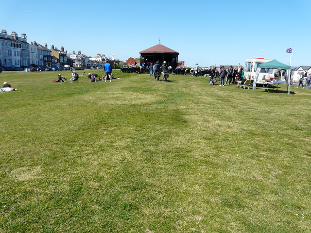 Concert at the Deal Memorial bandstand, Walmer Green