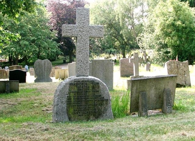 The grave of John Humphrey Lawrence and Heathcote Dicken Statham