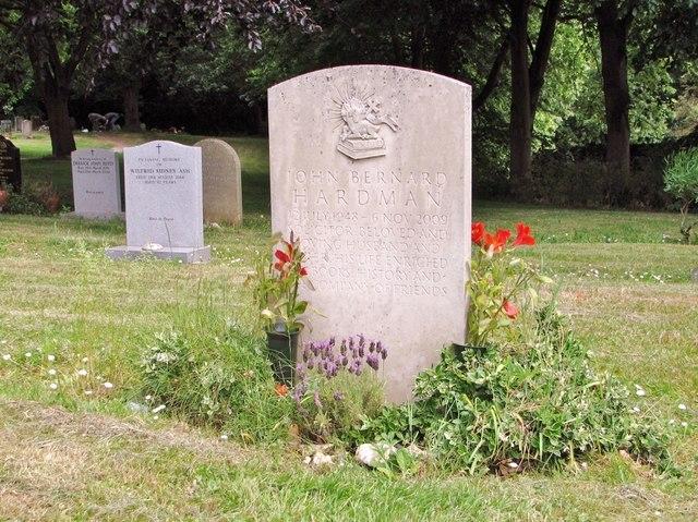 The grave of John Bernard Hardman