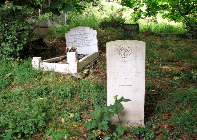 The grave of Edward Albert Smith