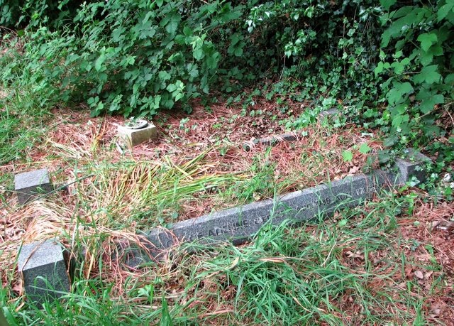 The grave of EG and GA Hales