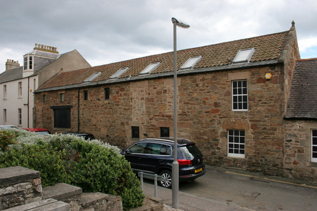 Rear of the Scottish Fisheries Museum