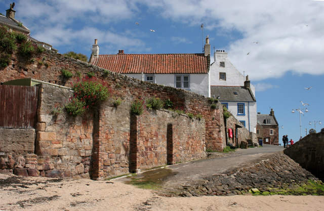 The old gasworks, Crail