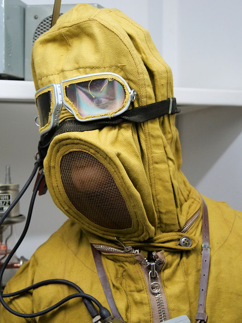 Hack Green Nuclear Bunker, Radiation Suit
