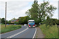 SJ6247 : Whitchurch Road (A530), Broomhall Green by David Dixon