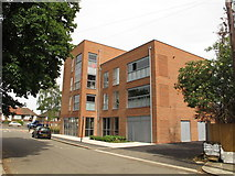 TQ2081 : Chopin House apartments, Grieg Road, North Acton by David Hawgood