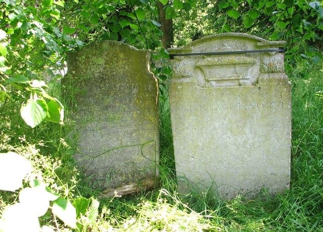 The grave of William Knott