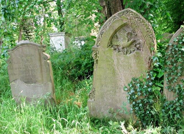 The grave of Edward Nursey