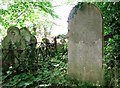 TG2408 : The grave of James Bagnett Wigham by Evelyn Simak