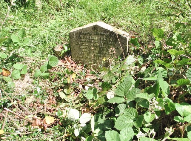 The grave of William Henry Olby