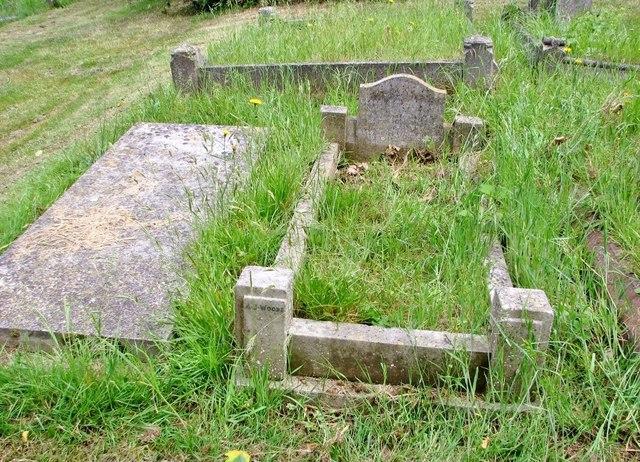 The grave of George Benjamin Payne