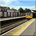 ST1586 : Penarth train at platform 2, Caerphilly  by Jaggery