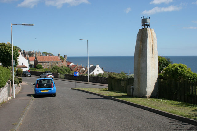 Upper Mead Beacon, Crail