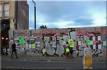 ST5974 : Demolition site on Cheltenham Road, Kingsdown by David Howard