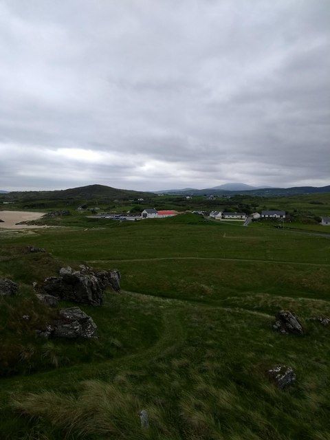 Looking towards Doagh Famine Village