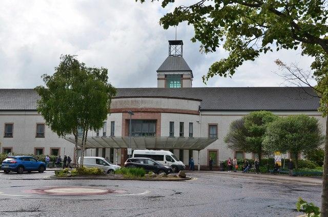 Main Entrance, University Hospital Wishaw