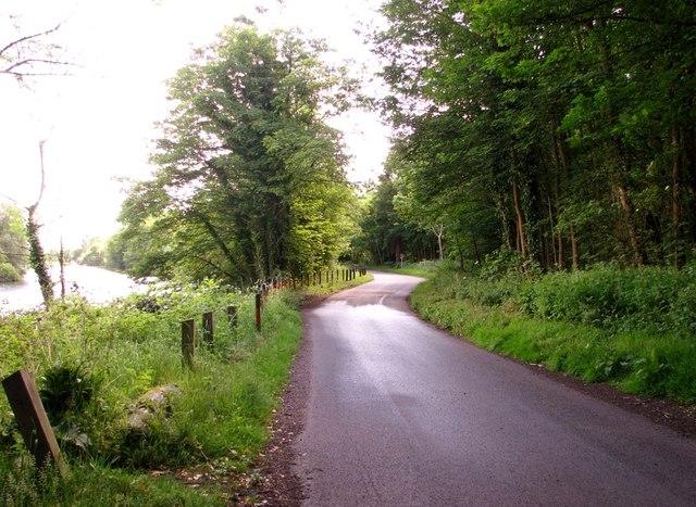 View east along Whitlingham Lane