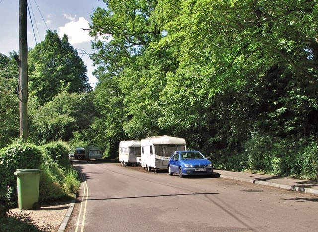 Caravan community on Whitlingham Lane
