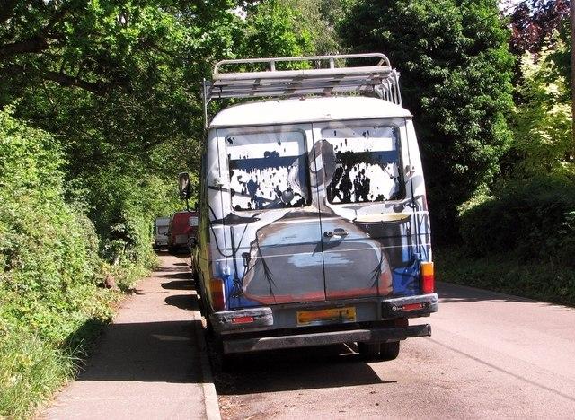 Caravan community on Whitlingham Lane
