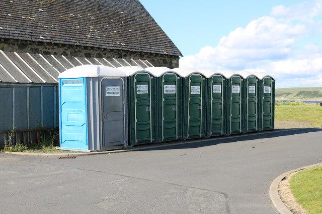 WC in the Fields, Ballantrae