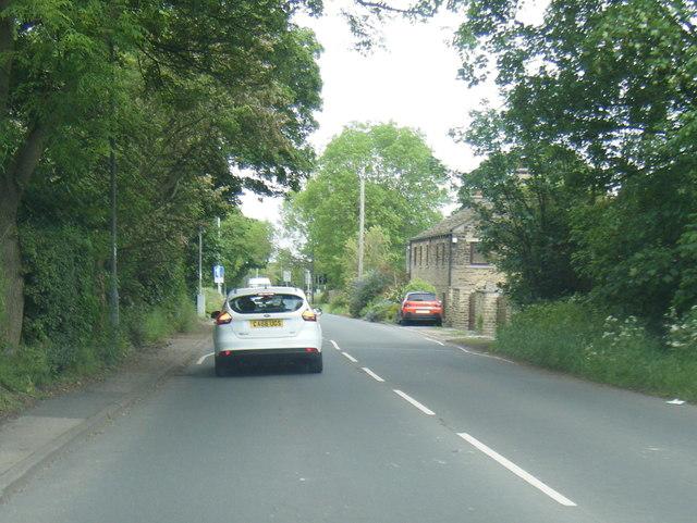 Tong Lane near Newlands Farm