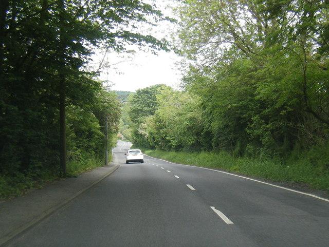 Tong Lane near Grange Farm