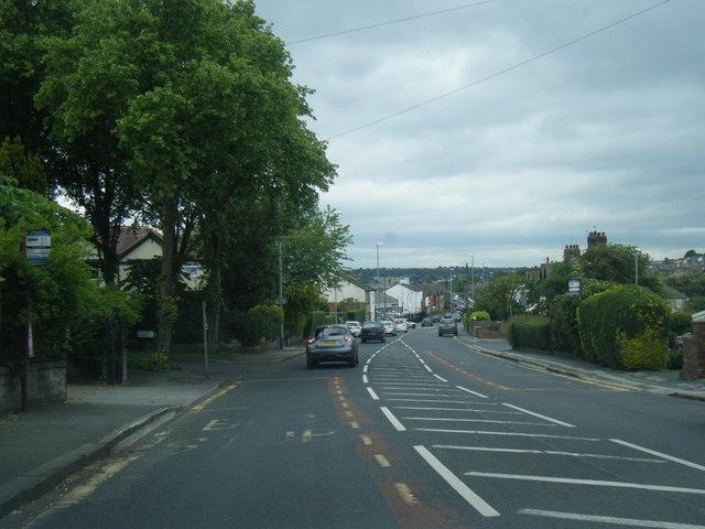 B6154 Uppermoor, Pudsey