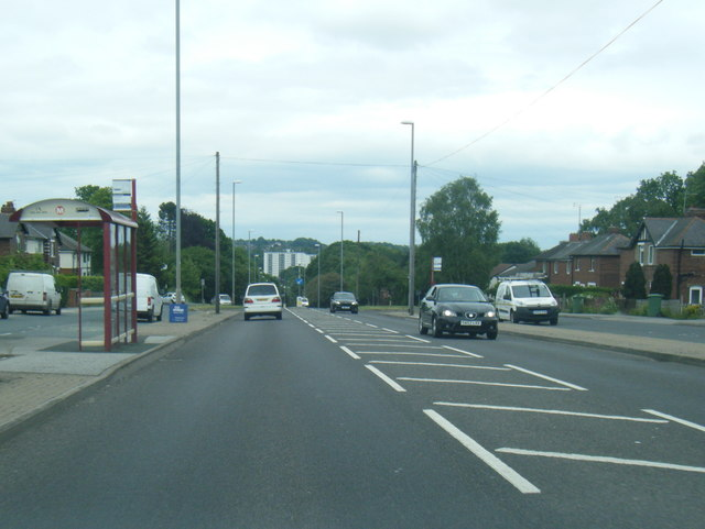 A6120 Broadway at Horsforth Woodside