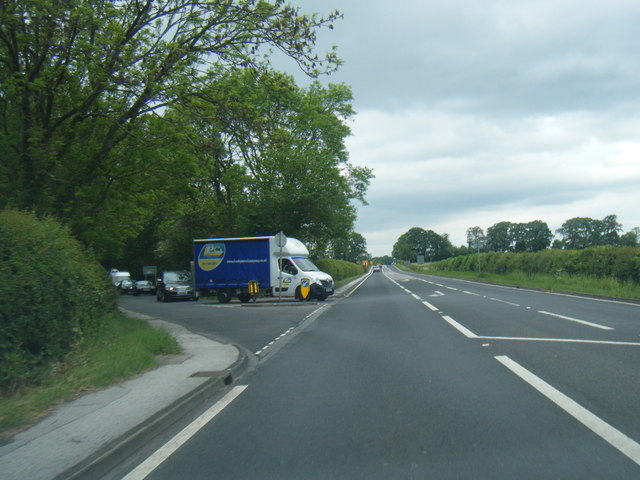 A58 Wetherby Road at Coal Road junction