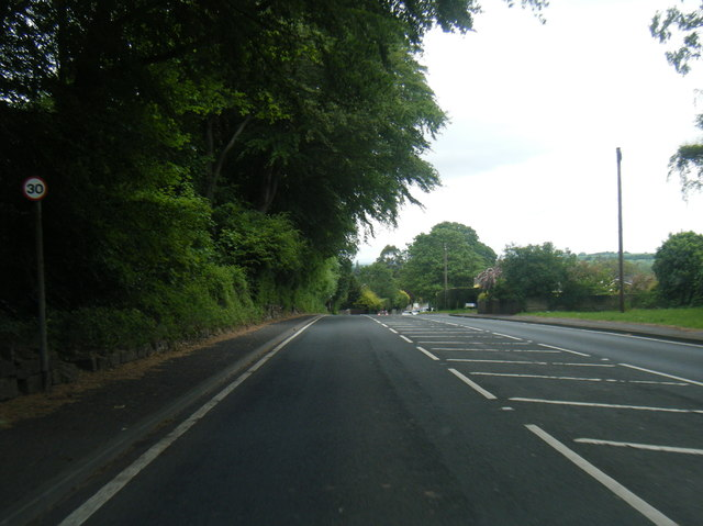 A58 Wetherby Road at Scarcroft