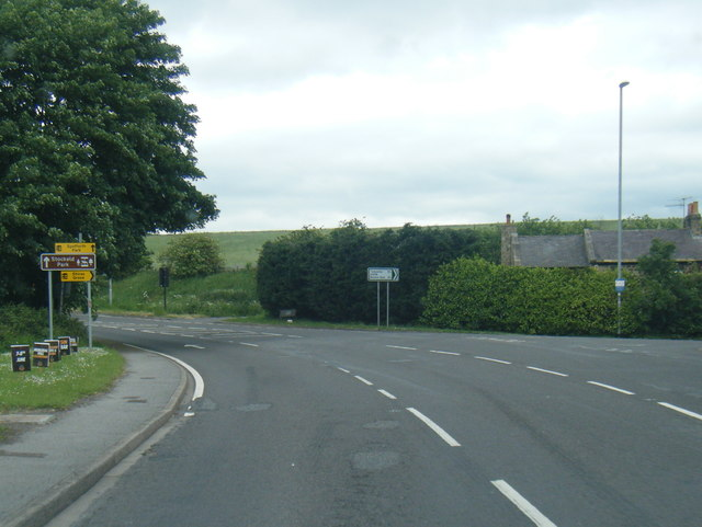 A58 at Wattle Syke junction