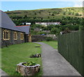 SO1403 : Hillside view from St Dingat's churchyard, New Tredegar by Jaggery
