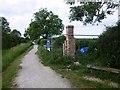 SK6929 : Chimney of the Hickling Lengthman's Hut by Graham Hogg