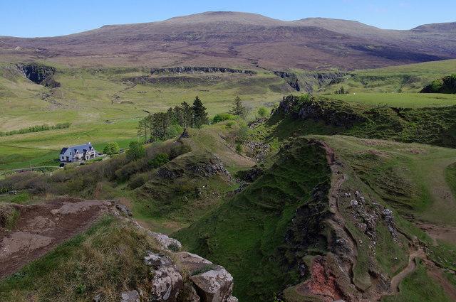 East from Castle Ewen