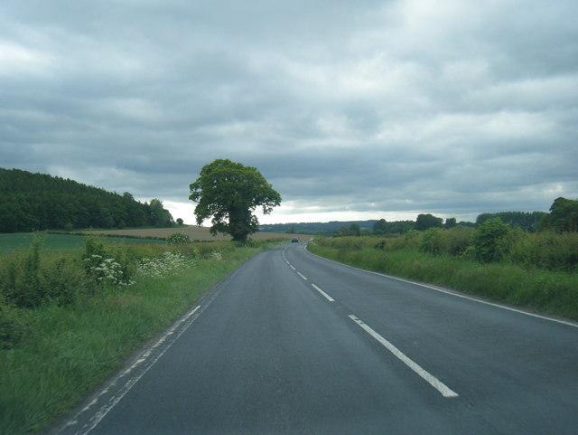 A659 near Rawden Hill