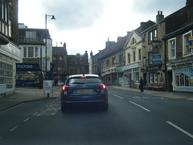 A659 Boroughgate, Otley